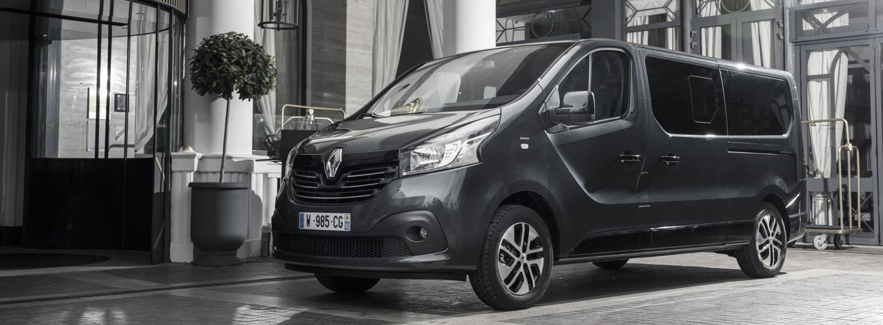 Renault Trafic SpaceClass High-End Shuttle Debuts In Cannes