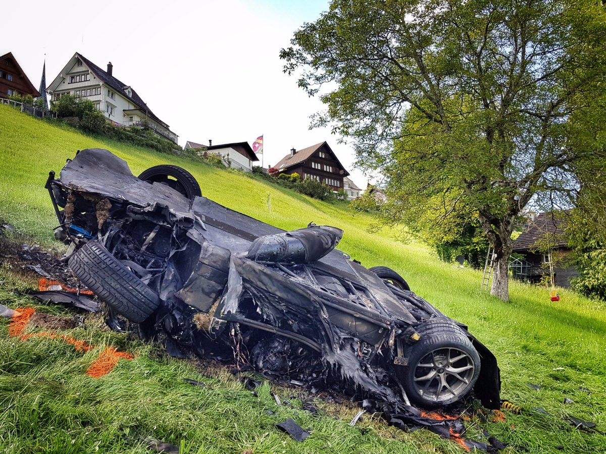 Richard Hammond is recovering after fiery crash in Rimac Concept One