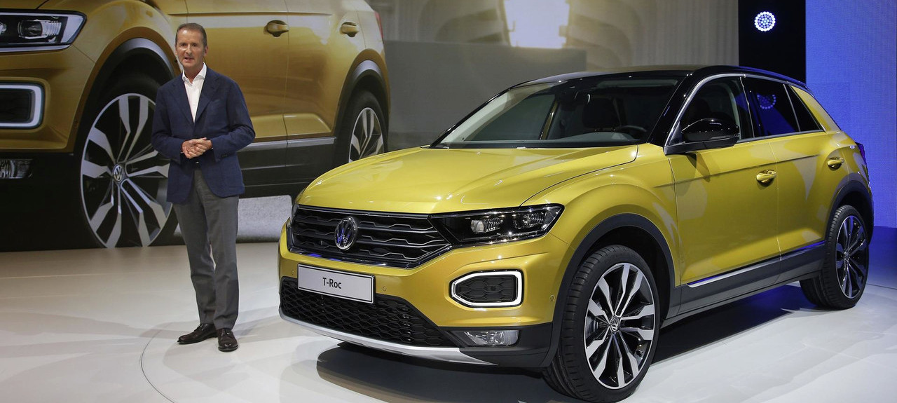 VW T-Roc revealed | Colorful, configurable compact crossover