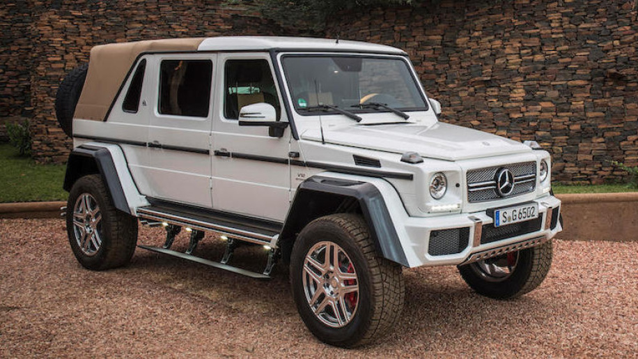 Mercedes-Maybach G650 Landaulet fetches record $1.4 million at auction