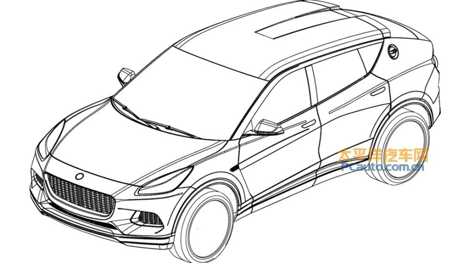 Leaked patent images show forthcoming Lotus SUV