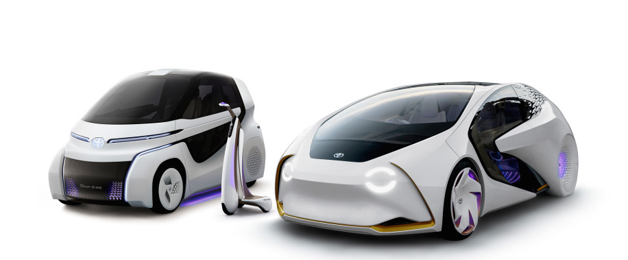 More about Toyota AI: 2 smaller vehicles will join Concept-i car from CES