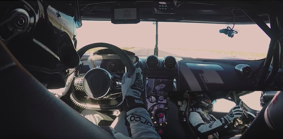 What's it like to drive 284 mph? Ride along in a Koenigsegg Agera RS and find out