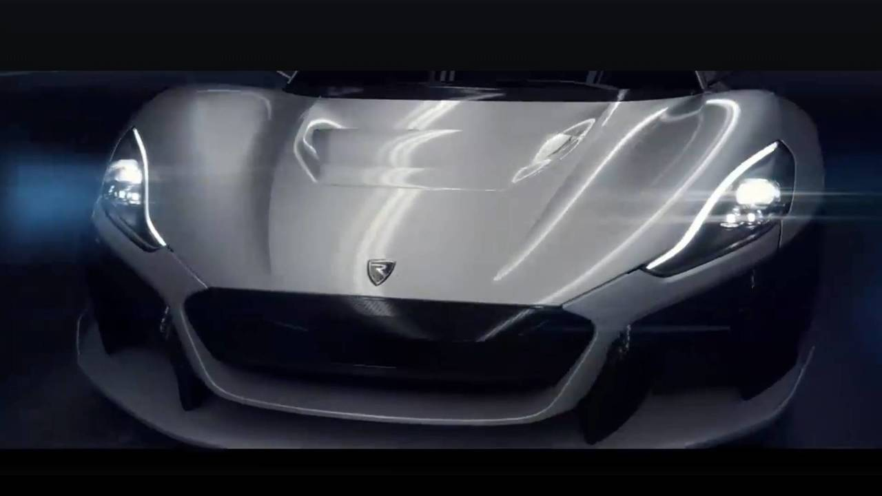 Rimac Teases New Electric Hypercar