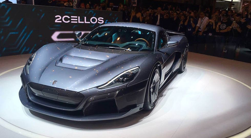 Rimac C_Two electric hypercar debuts at almost 2,000 horsepower
