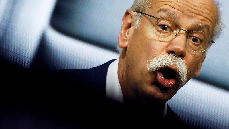 Daimler Could Be Slapped With $4.4 Billion Fine Over Emissions