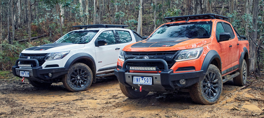 2018 Holden Colorado Z71 Xtreme looks xtra cool