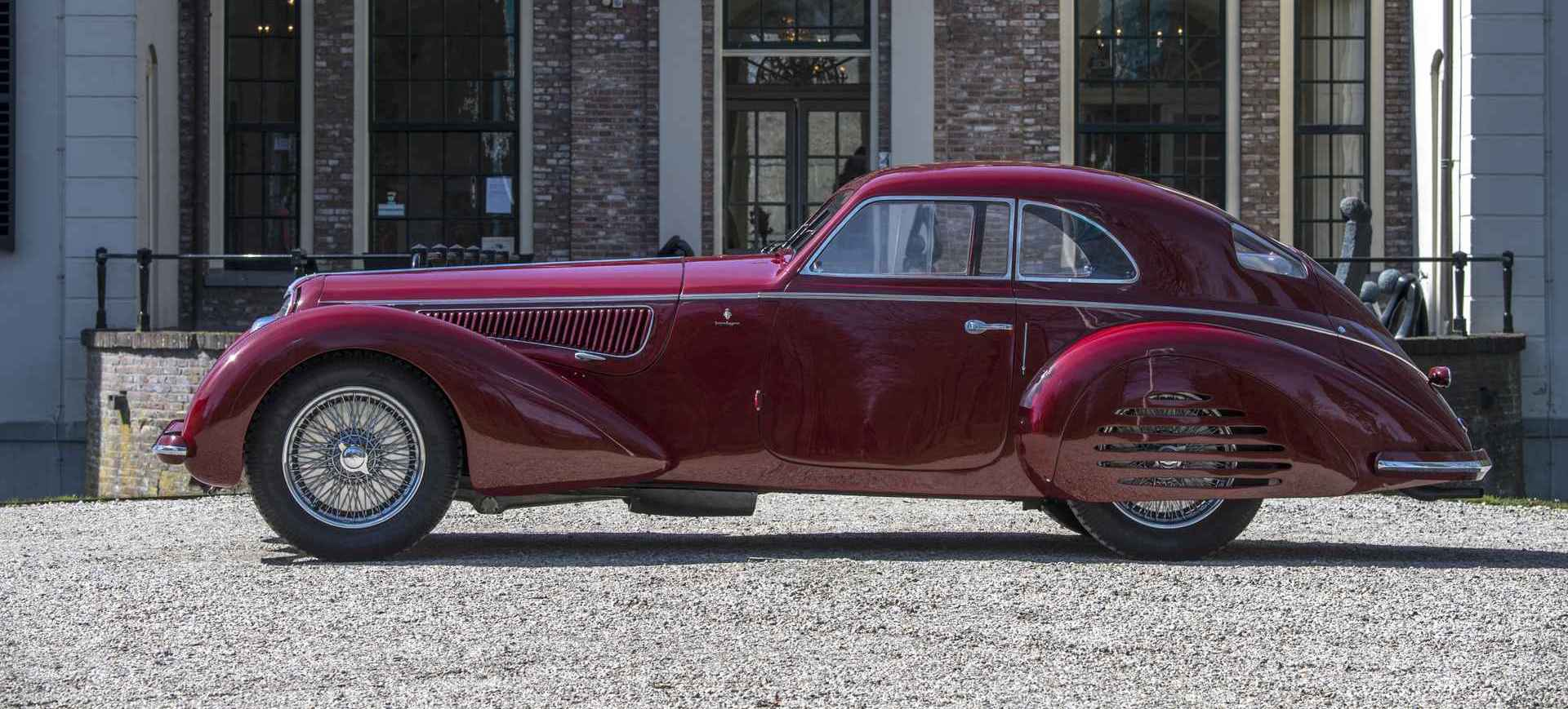 1939 Alfa Romeo 8C Touring Berlinetta Could Bring $25M At Auction