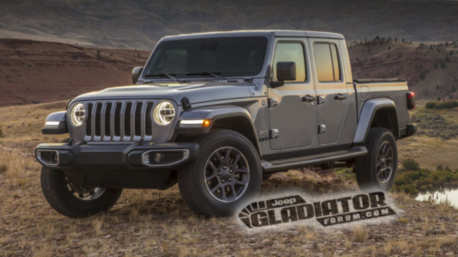2020 Jeep Gladiator leaks online ahead of LA Auto Show debut