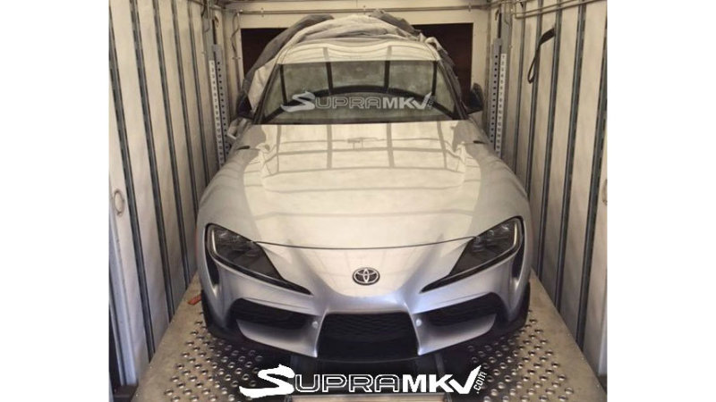 2020 Toyota Supra spied without any camouflage