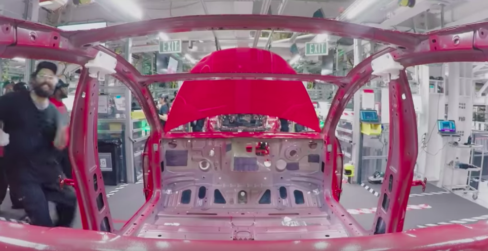 Watch Tesla Model 3 get built, and see how the car has quickly evolved