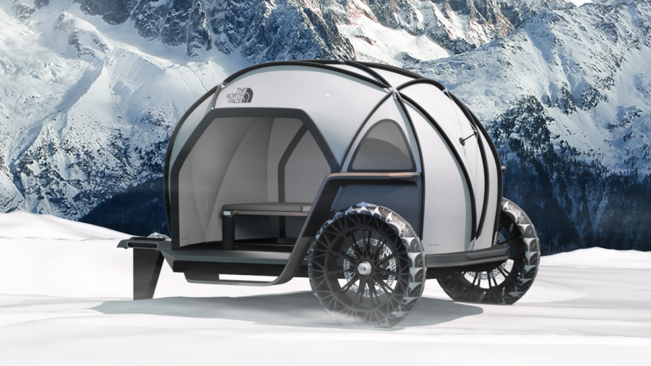 BMW Designworks and North Face design a rugged, lightweight camper
