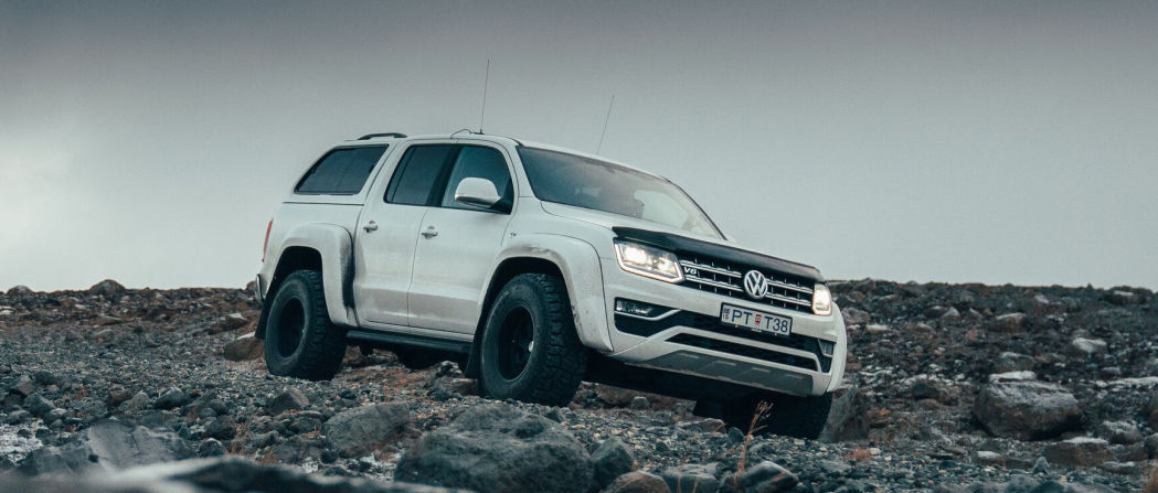 VW Amarok AT35 truck is designed for arctic exploration