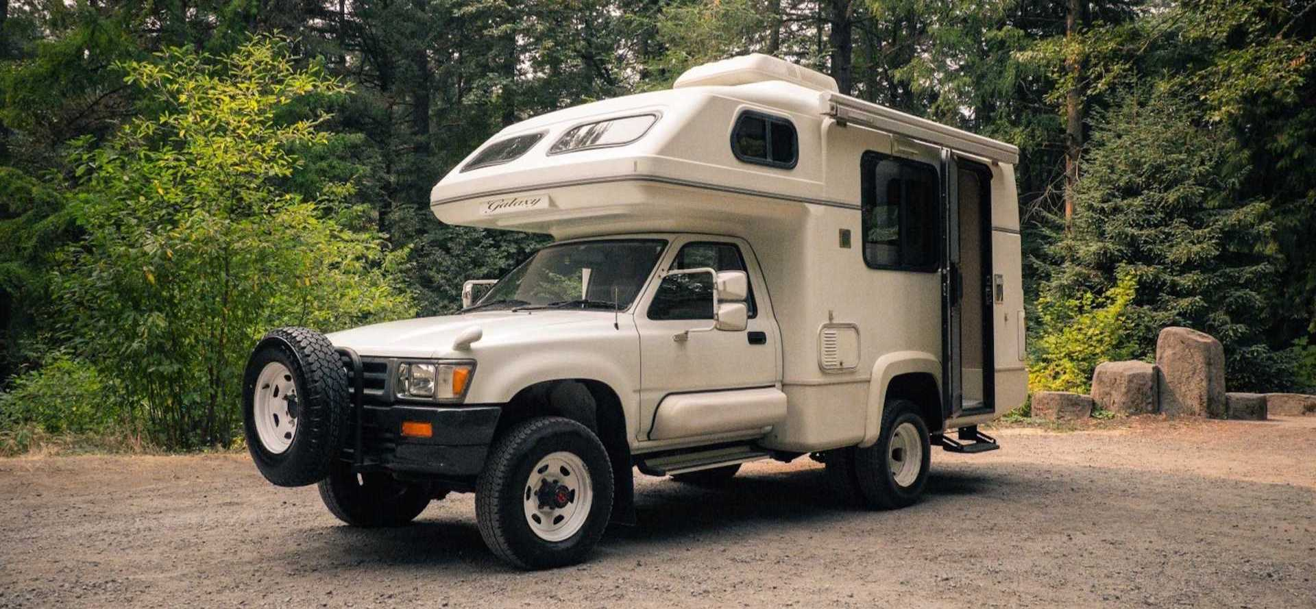 Toyota Hilux Galaxy Camper Is A Slow '90s Time Capsule