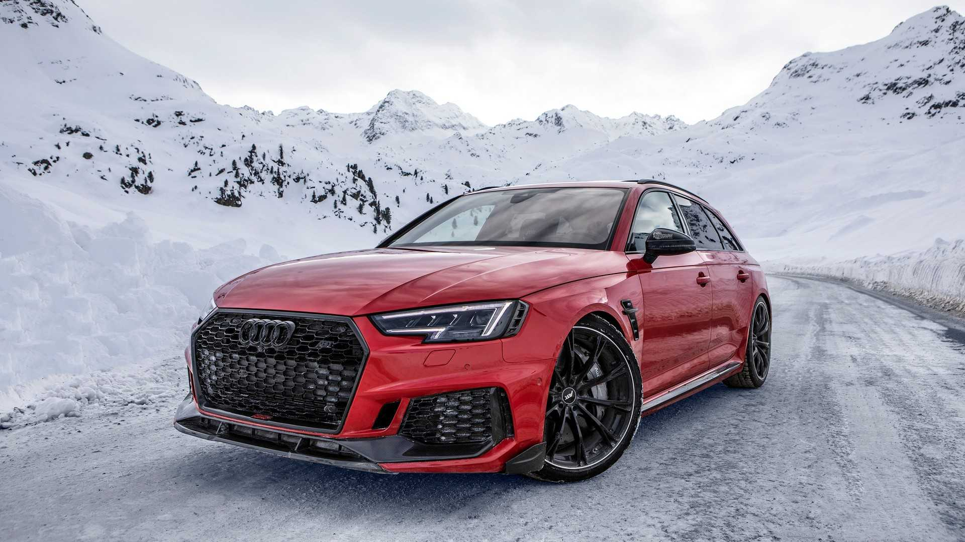 See ABT's Audi RS4+ Avant Have Some Fun In The Alps