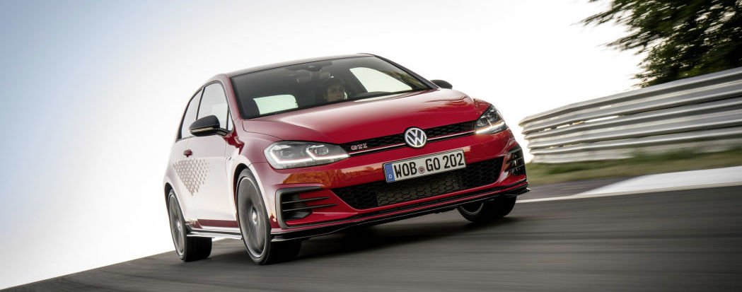 Volkswagen planning a GTI Cup go-fast Golf?