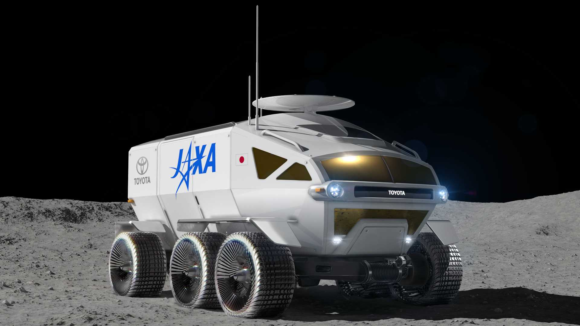 Toyota Inks Deal With Japan On New Rover For Moon And Mars
