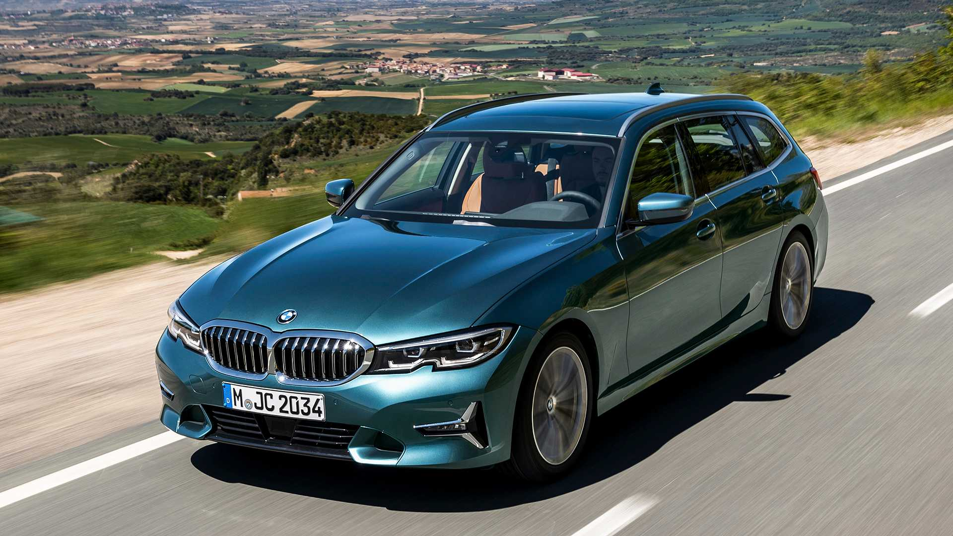2020 BMW 3 Series Touring Debuts Its Long Roof Lines For Euro Buyers