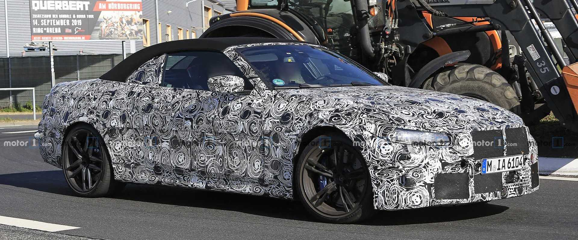 Next-gen BMW M4 Convertible spied for the first time