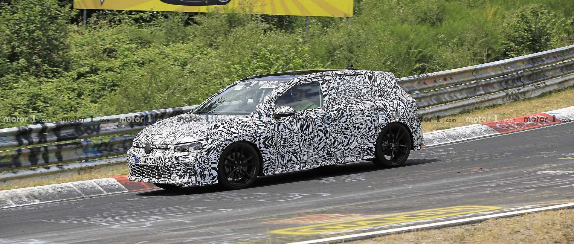 Next-Gen VW Golf GTI Spied For The First Time
