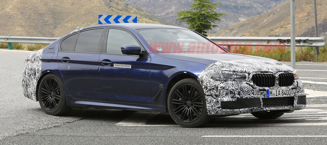 BMW 5 Series facelift has a surprise: a reasonably sized grille