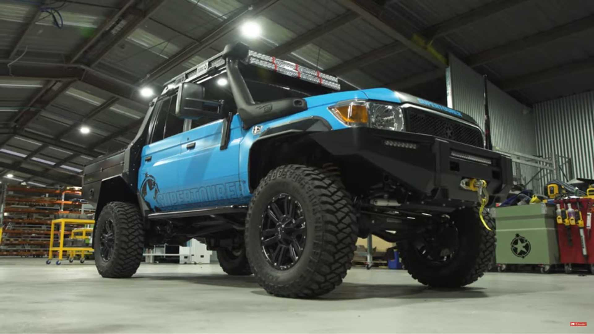Epic Toyota Land Cruiser With Portal Axles Is Ready To Go Anywhere