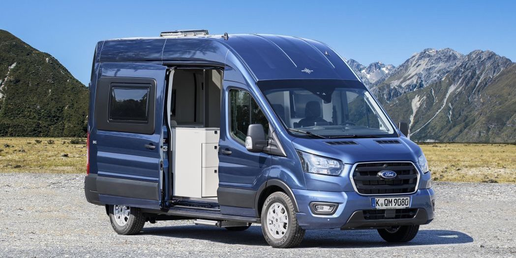 Ford Transit Big Nugget is a spacious factory-built camper van