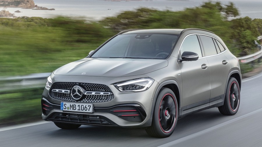 New Mercedes GLA receives more tech, space and comfort