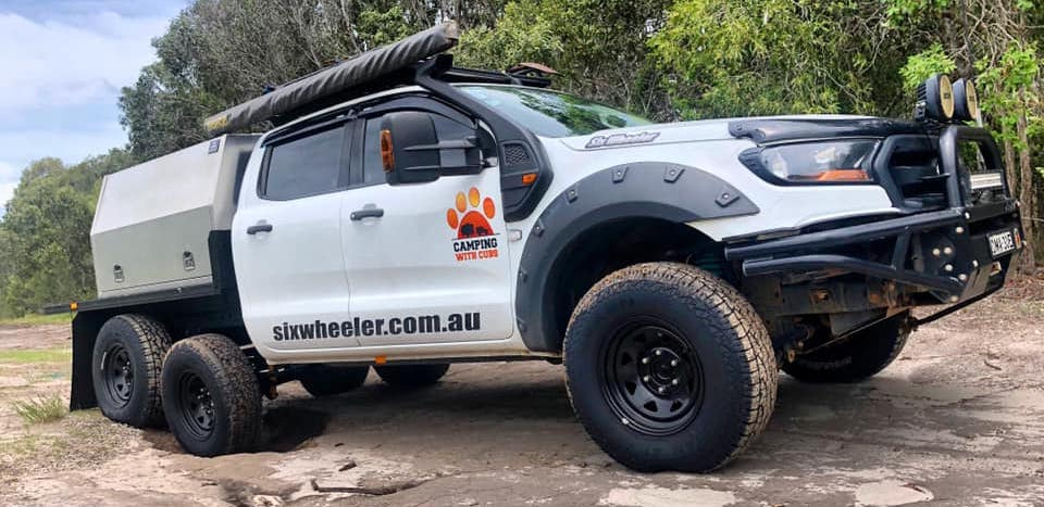 6x4 Ford Ranger Looks Ready to Conquer the Aussie Outback