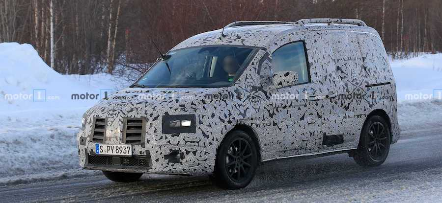 New Mercedes Citan Spied For The First Time