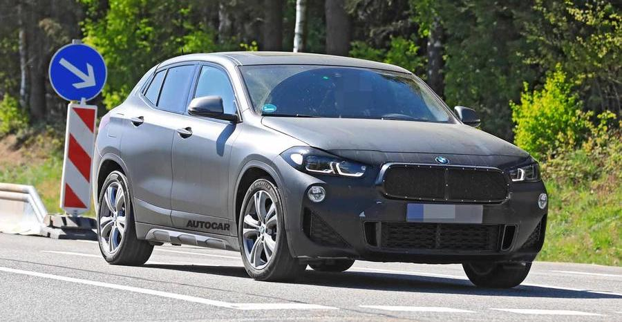 BMW X2 facelift to bring styling tweaks and tech upgrades