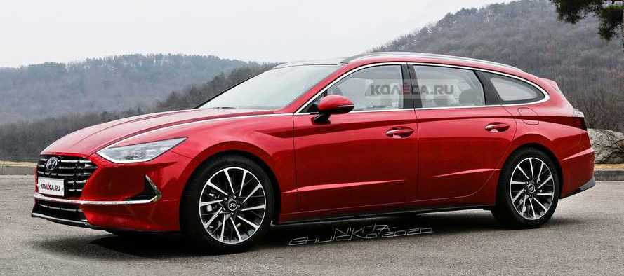 2020 Hyundai Sonata Wagon Rendering Has Us Craving Practical Style