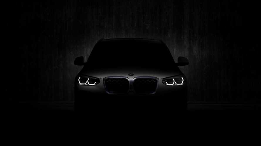 BMW iX3 Electric Crossover Teased Again Ahead Of July 14 Debut