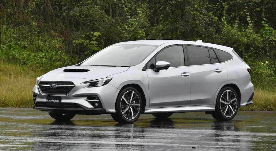 2021 Subaru Levorg Wagon Revealed, Could Hint At Next WRX Styling