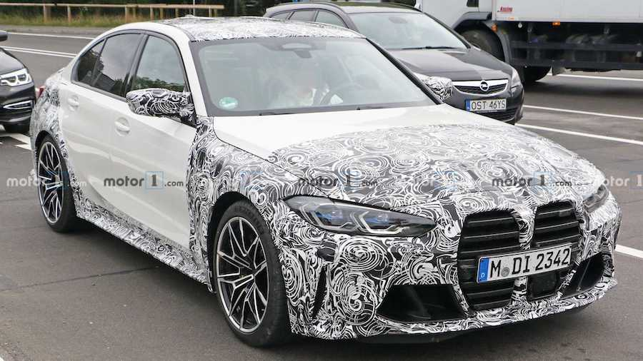 Next-Gen BMW M3 Spied Up Close As Launch Nears