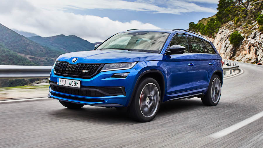Skoda Kodiaq vRS to be removed from sale due to emissions rules