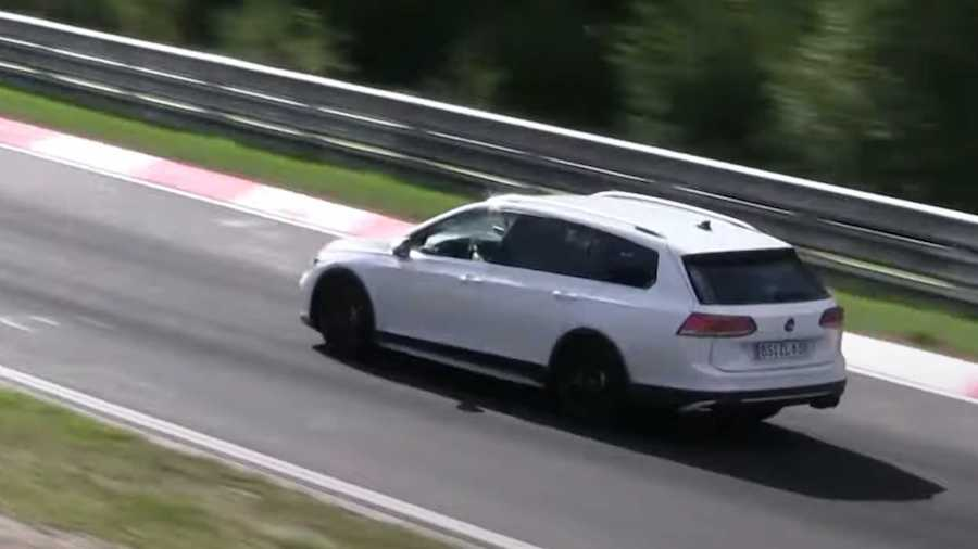 New VW Golf R Variant Caught Being Thrashed At The Nurburgring
