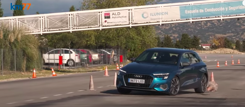 How Does The New Audi A3 Fare In The Difficult Moose Test?