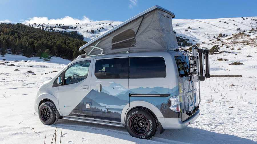 Nissan e-NV200 Winter Camper Concept Imagines RV For EV Adventures