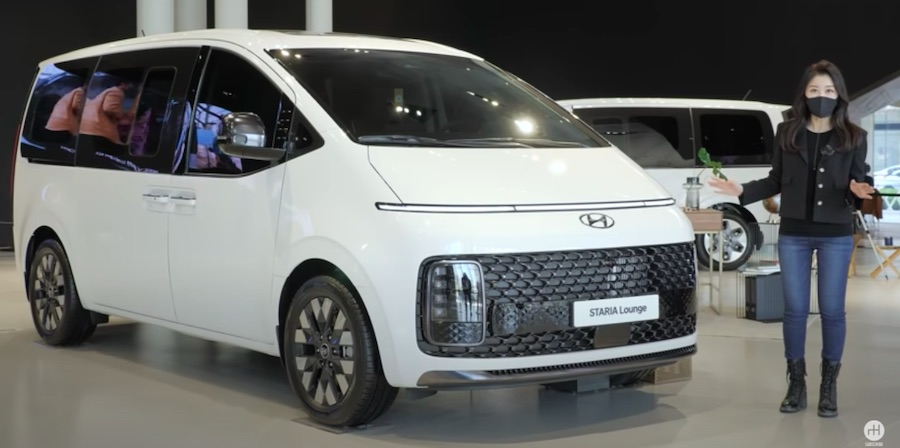 Hyundai Staria Minivan Extended Video Shows Its Many Neat Features