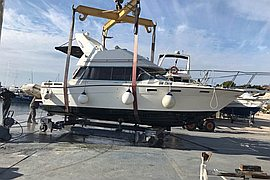 1990' Bayliner Contesa 2855 fly