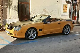 2005' BMW Sl Roadster 500