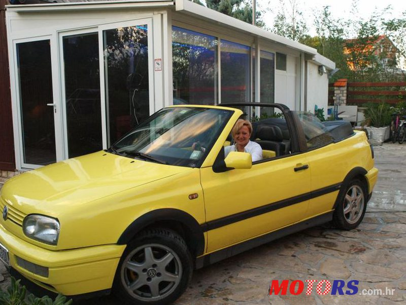 1995 Volkswagen Golf Cabrio Cabrio in Zagreb City, Croatia