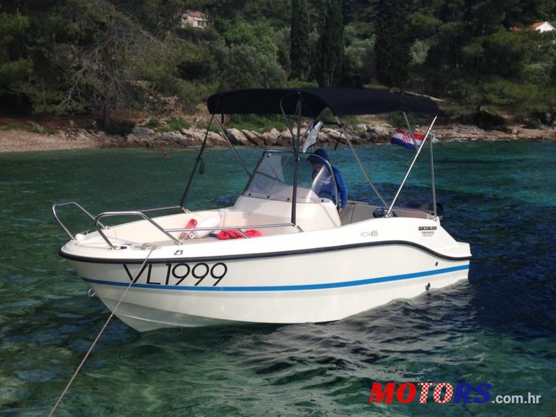 2016 Quicksilver active 455 open in Dubrovnik-Neretva, Croatia