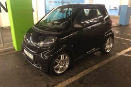 2009' Smart Fortwo Coupe Brabus