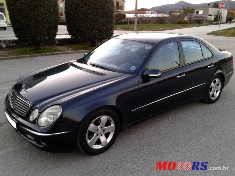 2003 39 mercedes benz e klasa 220 cdi for sale 9 999 dubrovnik neretva croatia. Black Bedroom Furniture Sets. Home Design Ideas