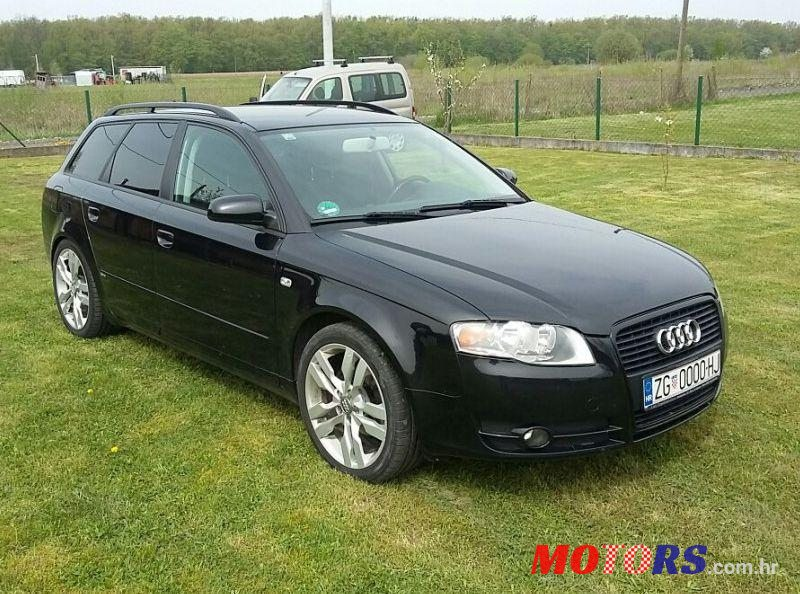 2007 39 audi a4 avant 2 0 tdi za prodaju 7 650 grad. Black Bedroom Furniture Sets. Home Design Ideas