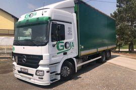 2007' Mercedes-Benz Mercedes Actros 2544 L MP2 Eur