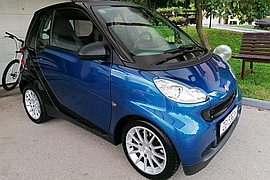 2009' Smart Fortwo Coupe Pulse Softip