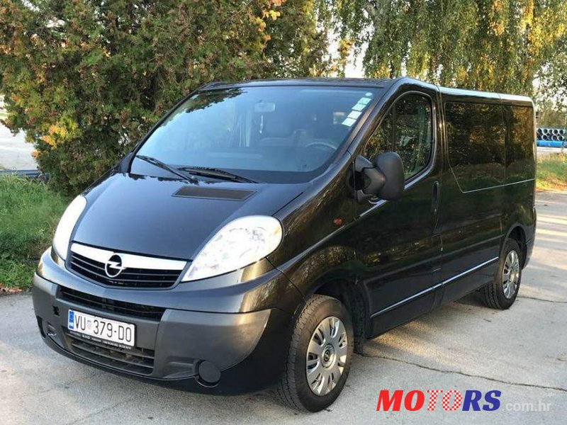 2010 39 opel vivaro 2 0 cdti for sale 10 000 vukovar. Black Bedroom Furniture Sets. Home Design Ideas